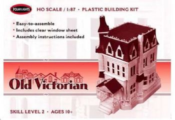 Old Victorian House (Addams Family) 1:87 Scale Model Kiot